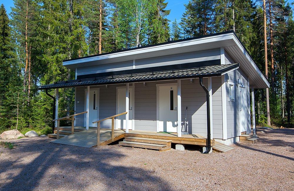 Tommolansalmi campsite maintenance building