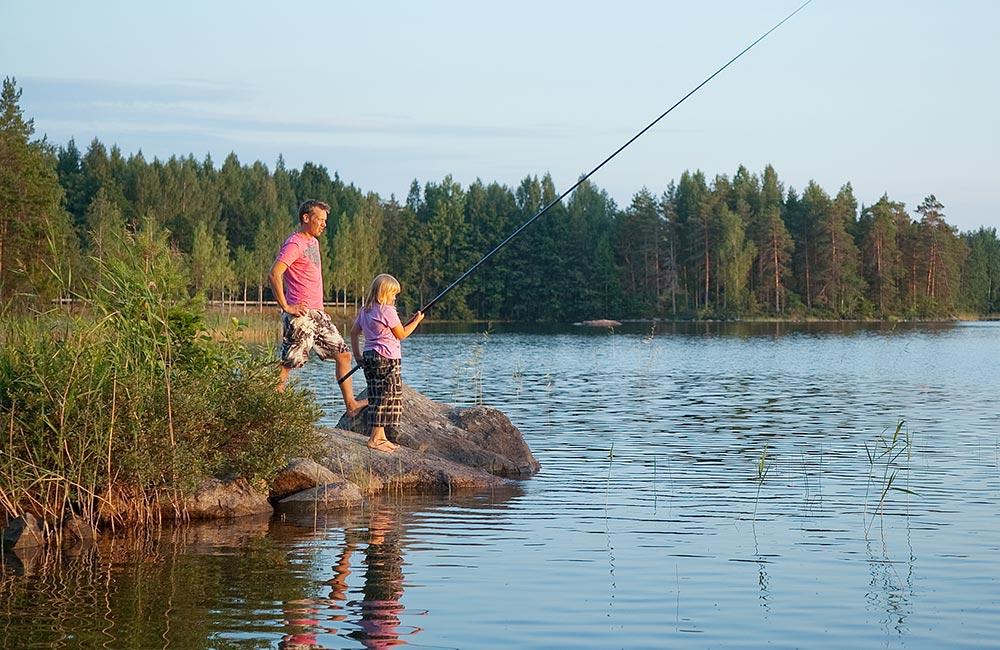 Tommolansalmi kalastus