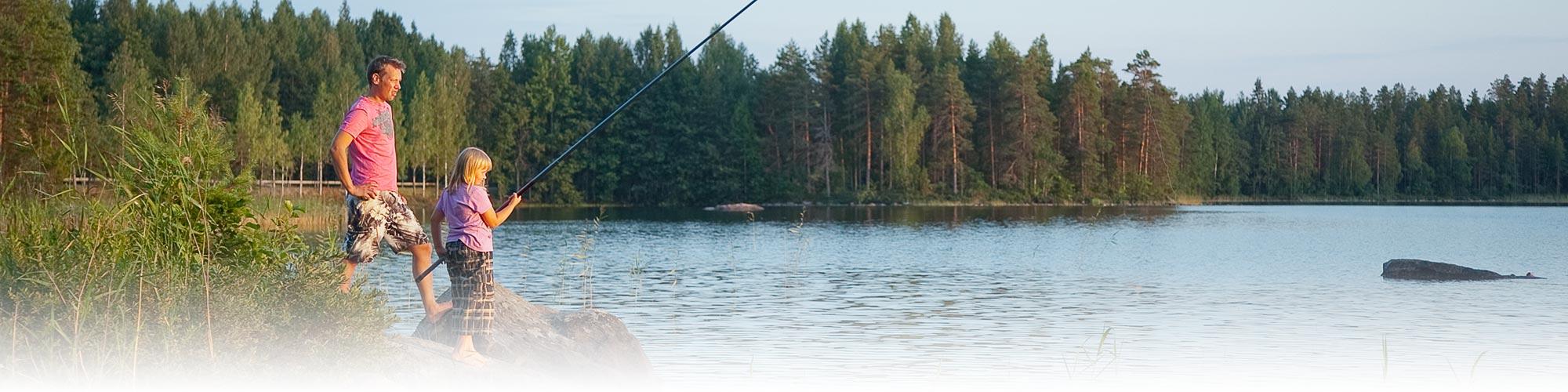 Tommolansalmi fishing