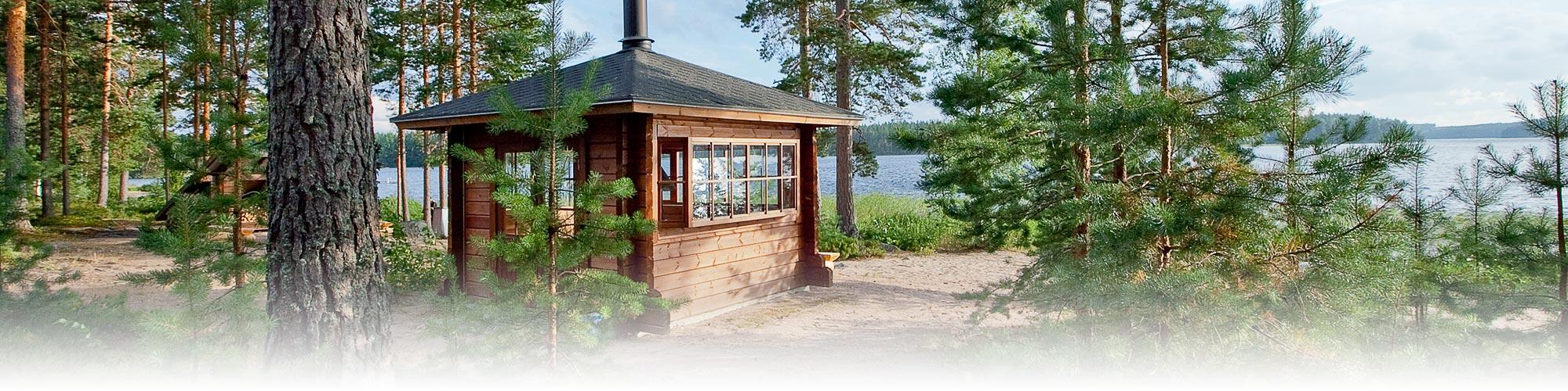 Tommolansalmi campsite barbecue hut
