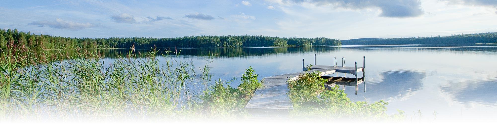 Tommolansalmi Lake Korpijärvi
