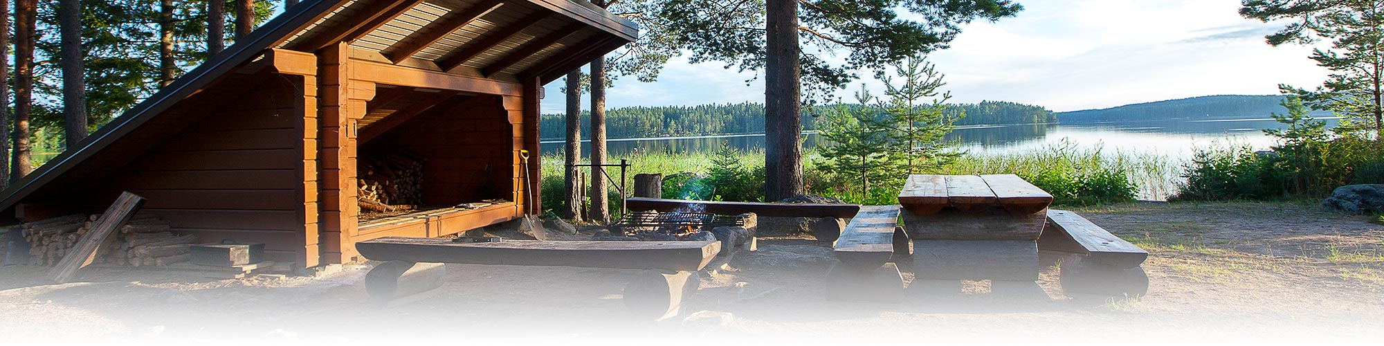 Tommolansalmi camping-alue laavu