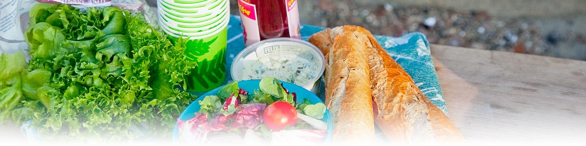 Tommolansalmi restaurant picnic